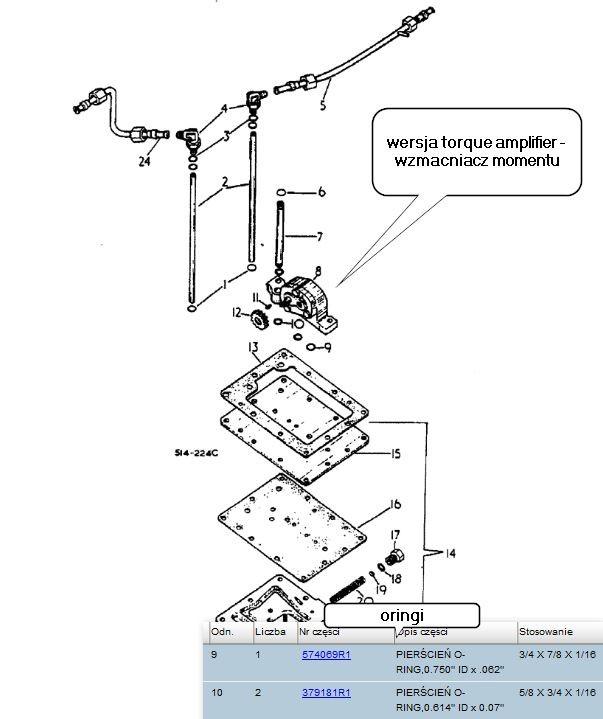 pompa hydrauliczna CASE  IH  3400